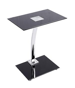 ts-ideen - Mesa de café para ordenador (acero inoxidable con ...
