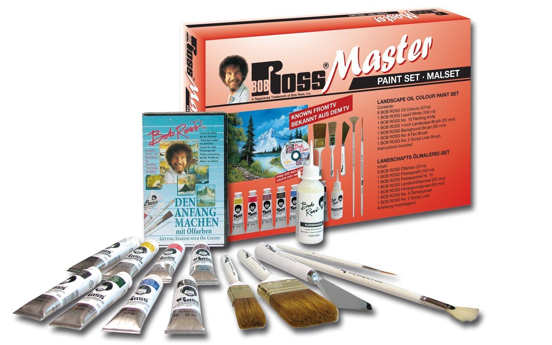 Weber Bob Ross Master Paint Set Martin// F