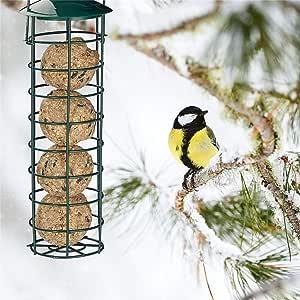 Convincied Comederos para Pájaros Colgados En Terrazas De Jardín O Balcones para Tetas Gorriones Y Otros Pájaros Salvajes: Amazon.es: Productos para mascotas
