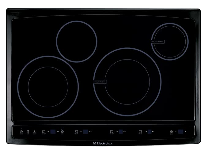 Electrolux EW30CC55GBWave Touch 30u0026quot; Black Electric Hybrid Induction  Cooktop