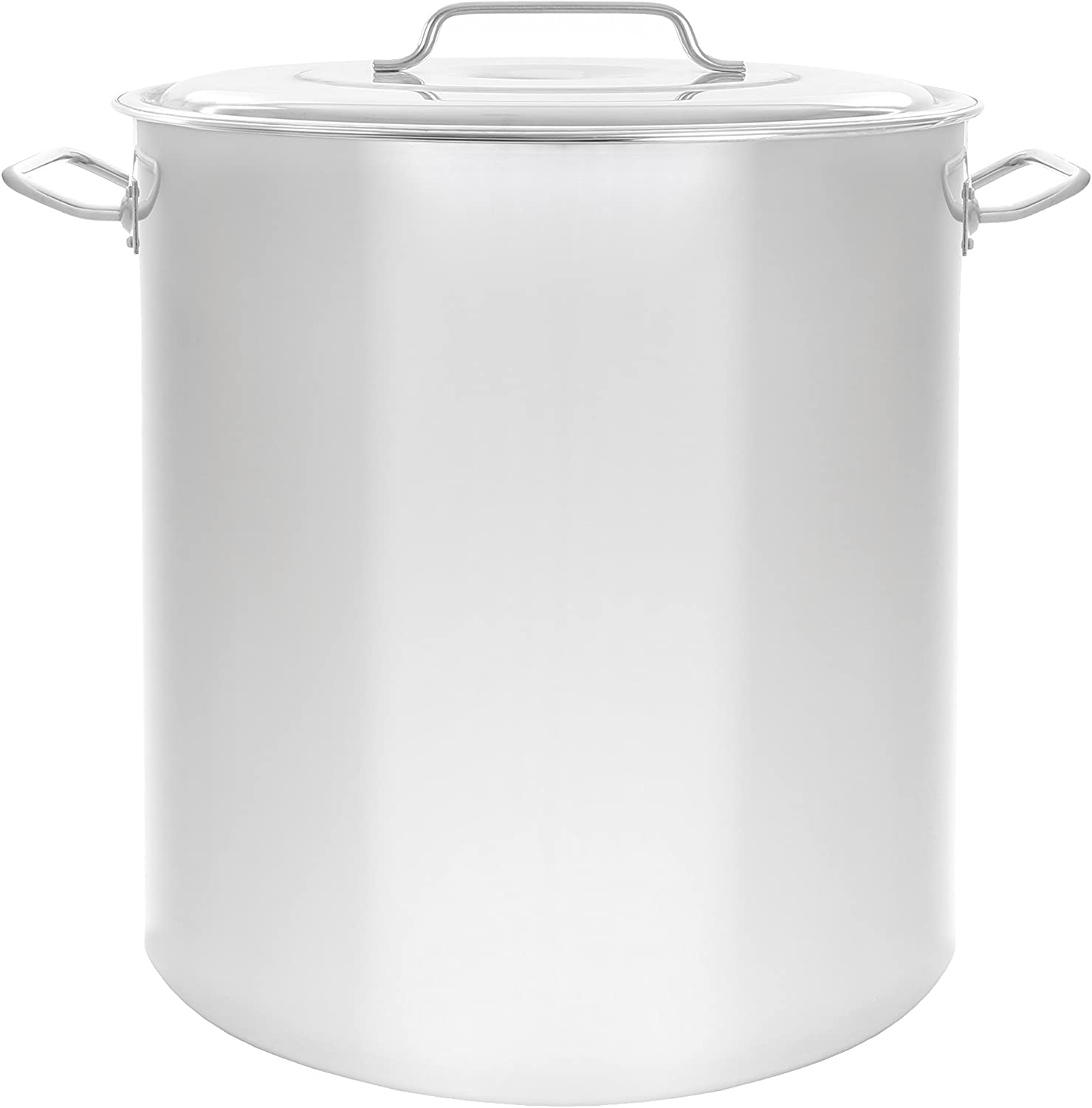 Concord Cookware Stainless Steel Stock Pot Kettle, 60-Quart