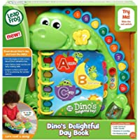 LeapFrog 600503 Dino's Delightful Day Book Electronic Toys,Green