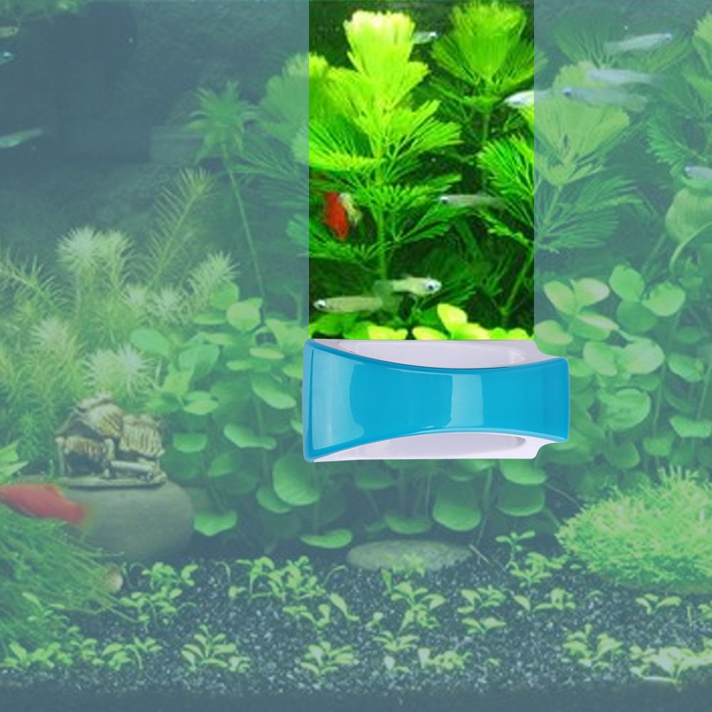 KEDSUM Magnetic Aquarium Fish Tank Cleaner, Fish Tank Glass Cleaner, Floating Clean Brush with Handle Design by KEDSUM (Image #7)