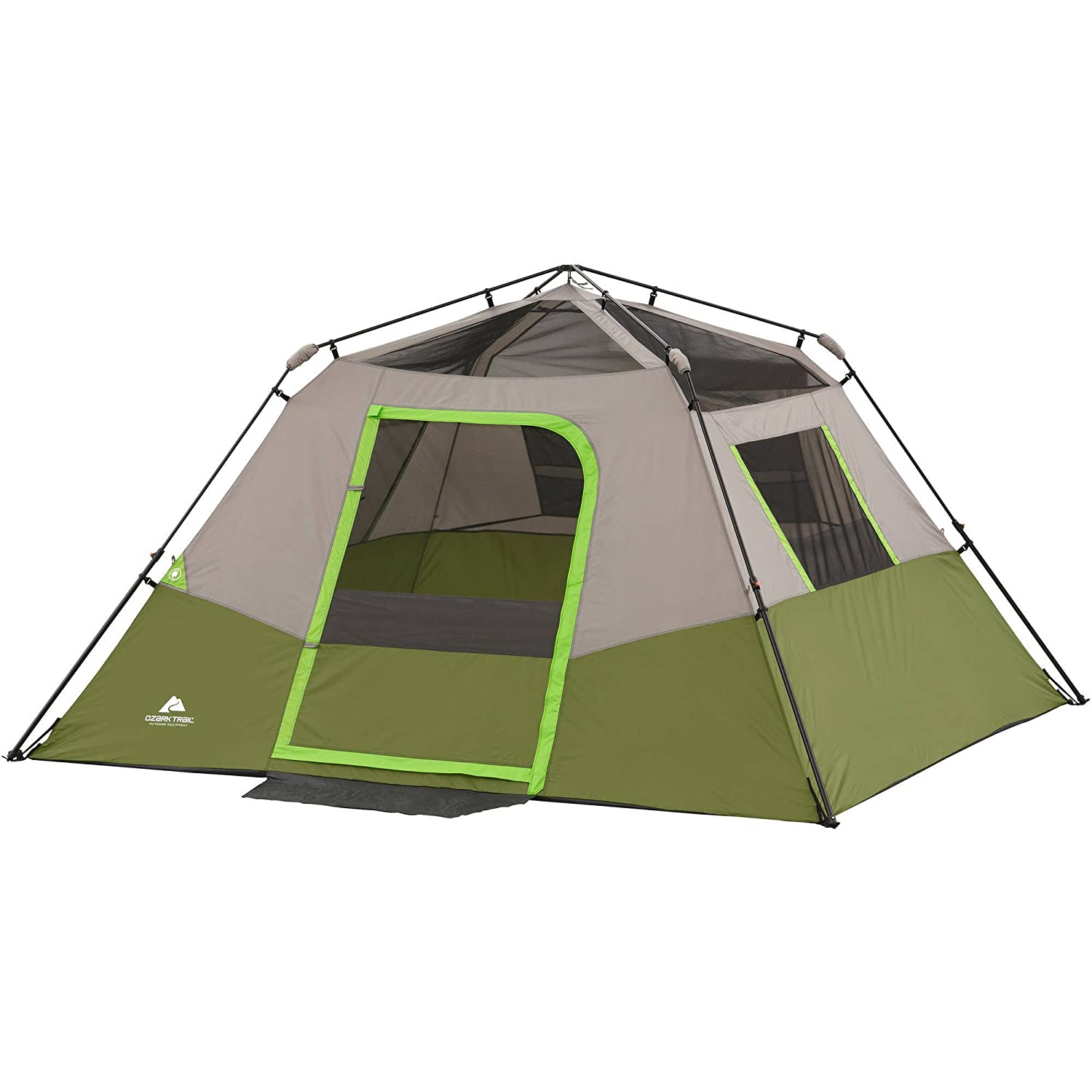 5. Ozark Trail 6 Person Instant Cabin Tent  sc 1 st  Outdoorzer.com : coleman sundome tent 5 person - memphite.com