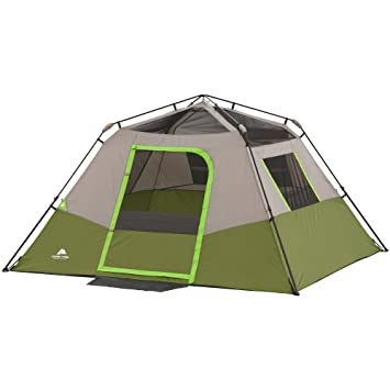 Amazon.com  Ozark Trail 6 Person Instant Cabin Tent  Family Tents  Sports u0026 Outdoors  sc 1 st  Amazon.com & Amazon.com : Ozark Trail 6 Person Instant Cabin Tent : Family ...