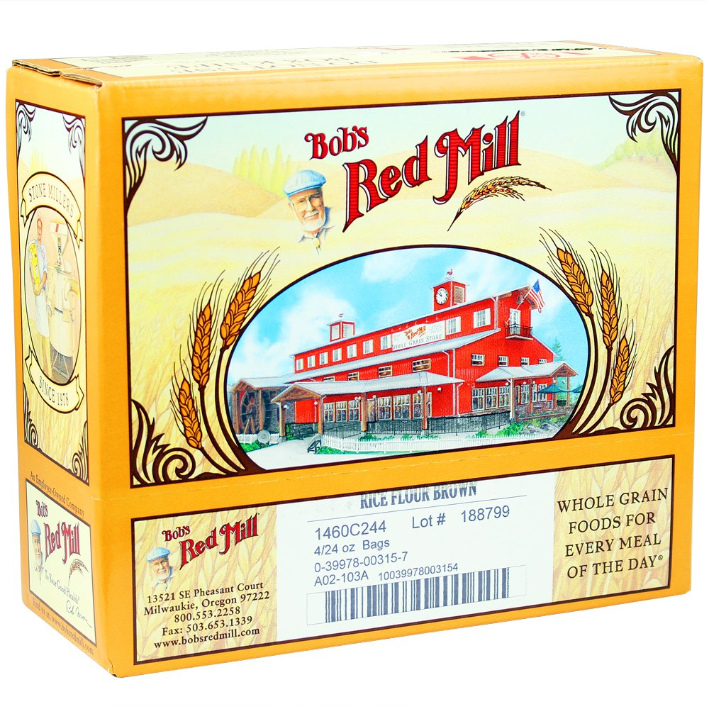 Bob's Red Mill Gluten Free Brown Rice Flour, 24 Oz (4 Pack) by Bob's Red Mill (Image #5)