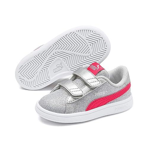 PUMA Mädchen Smash V2 Glitz Glam V Ps Sneaker