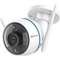 EZVIZ 1080P Cámara de Vigilancia Exterior de Seguridad H.265 Compresión, Visión Nocturna en Color, AI Detección Humana…