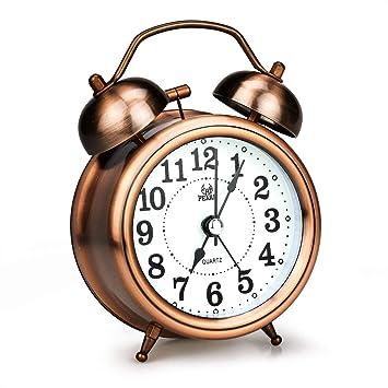 Amazon.com: LINGSFIRE - Reloj despertador para dormitorio ...