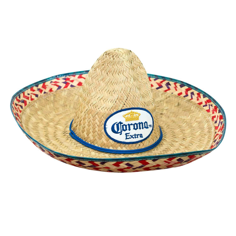 Corona Extra Straw Sombrero