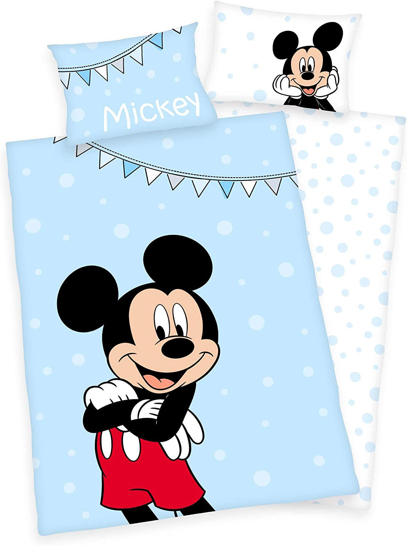 135x200 cm 100/% Baumwolle Klaus Herding GmbH Disney`s Winnie The Pooh Bettw/äsche 80x80 bunt 135x200