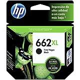 HP CZ105AL Advantage Cartucho de tinta original de alto rendimiento, Negro, 662XL