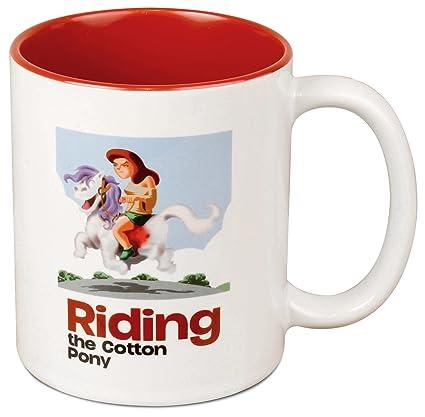 Riding the cotton pony