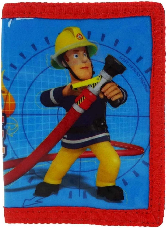 Fireman Sam M/ünzb/örse - SAM004003 Blau blau