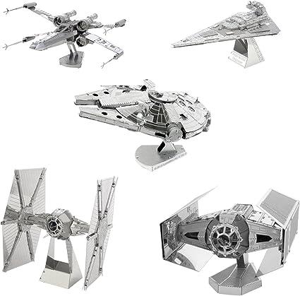 Metal Earth Laser Model Kit Star Wars Darth Vader/'s TIE Advanced X1 Starfighter