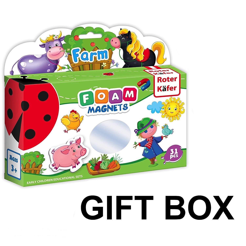 Lernspielzeug Bauernhof mit Tiere Farm Simply for Kids Spielkoffer