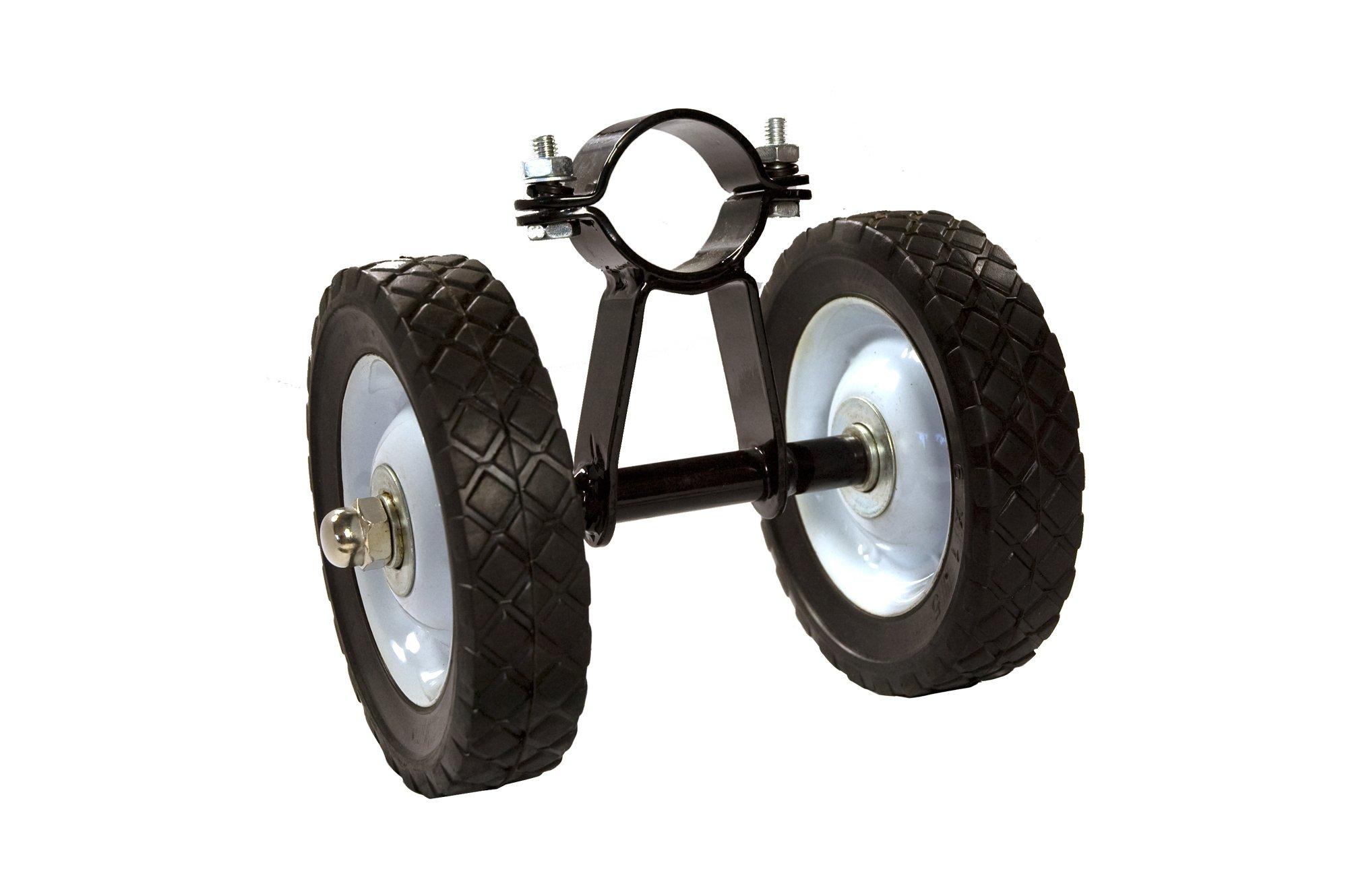 Bliss Hammocks Wheel Kit for 15' Hammock Stand, Black