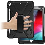 ORIbox Anti-Fall Case for iPad Pro 1st 11''(2018), Hybrid Shockproof Rugged Drop Protection Cover Built with Kickstand for iPad,11 Inch, Black