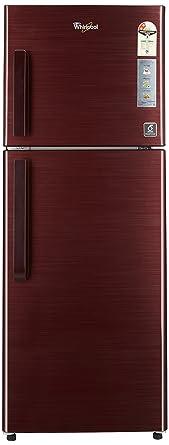 Whirlpool 245 L 2 Star Frost Free Double Door Refrigerator(NEO FR258 CLS PLUS WINE TITANIUM(2S), Wine Titanium)