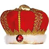 Boland 01237 - Erwachsenenhut König, Einheitsgröߟe, mehrfarbig