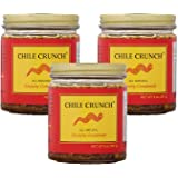 Chile Crunch Gourmet Mexican Condiment and Salsa Marinade (3 Pack)