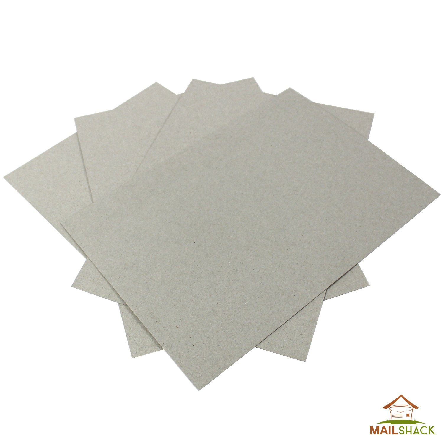 100 Sheets A5 PREMIUM 2250 MICRON 2.25mm GREYBOARD THICK STRONG Backing Card Craft MAILSHACK