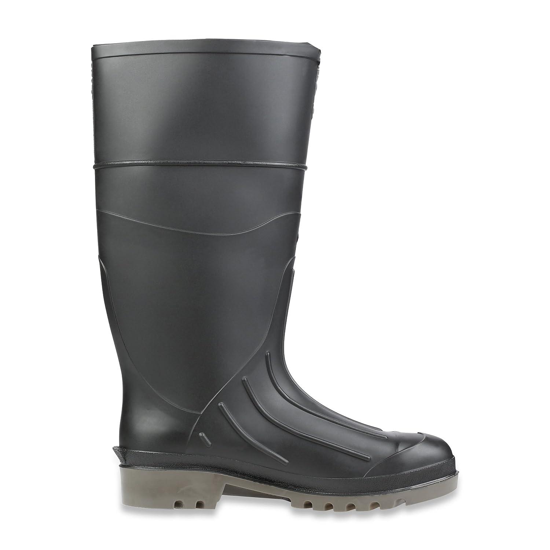 """B00B5SL7B2 Servus Iron Duke 15\"""" PVC Polyblend Soft Toe Men\'s Work Boots, Black & Gray (18802) 71iFiRwKcLL"""