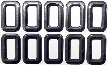 3D Font Gel Domed Self Adhesive Number Plate Digit S