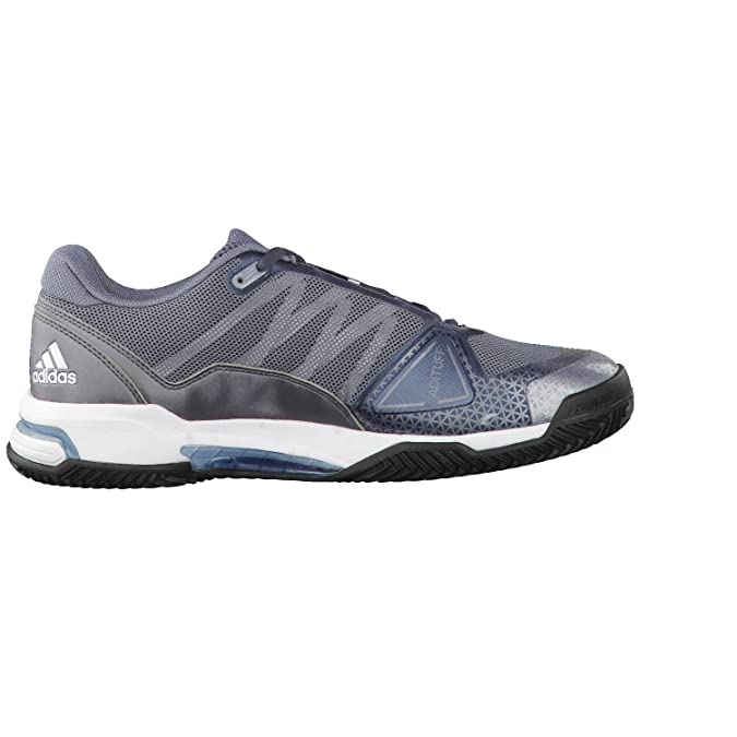adidas Zapatillas Barricade Club Plateado Azul: Amazon.es ...
