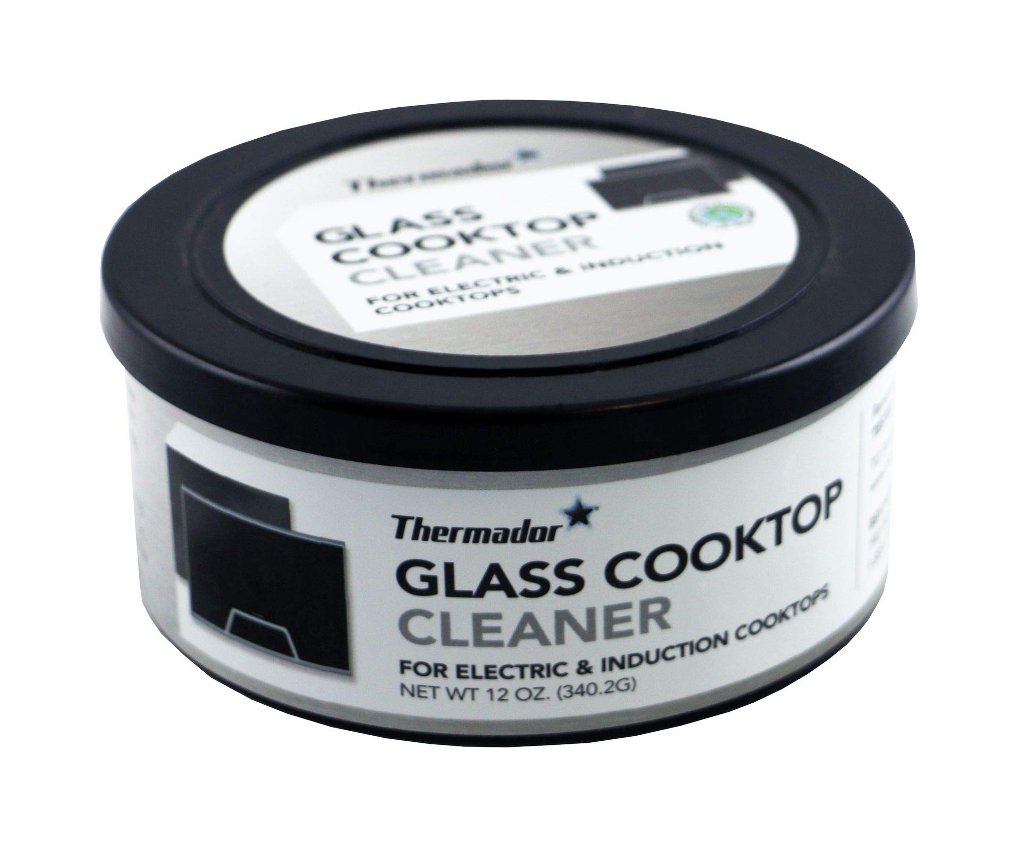 Thermador 12010031 Glass Cooktop Cleaner For electric & induction cooktops Set of Two 12-ounce tubs by Thermador