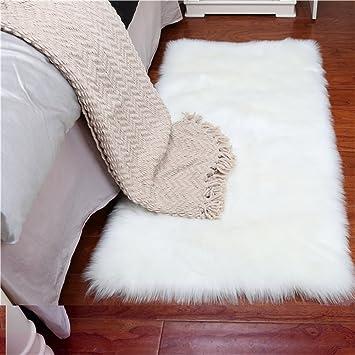 Creative Area Teppiche Faux Fleece Schaffell Fluffy Shaggy Teppich