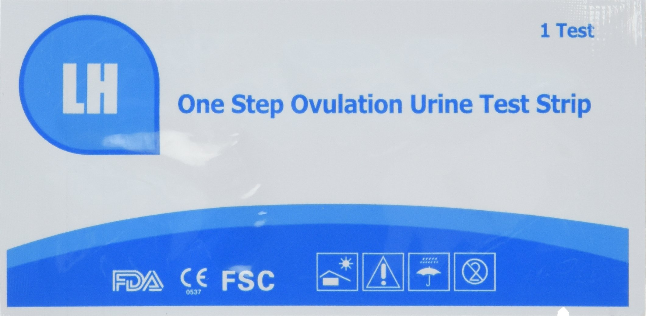 Wondfo 100 (LH) Ovulation Tests + 20 (HCG) Pregnancy Test Strip Combo Pack by Formosa Medical®