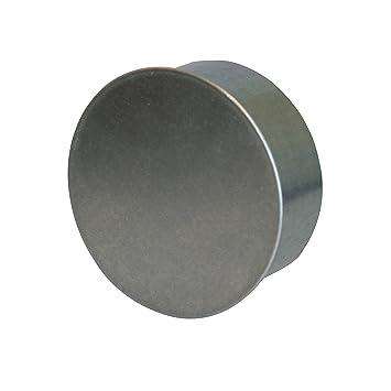 Kamino - Flam - Tapa para tubo de chimeneas, estufas y hornos de leña - acero con revestimiento de aluminio - Ø 80 mm - resistente a altas temperaturas: ...