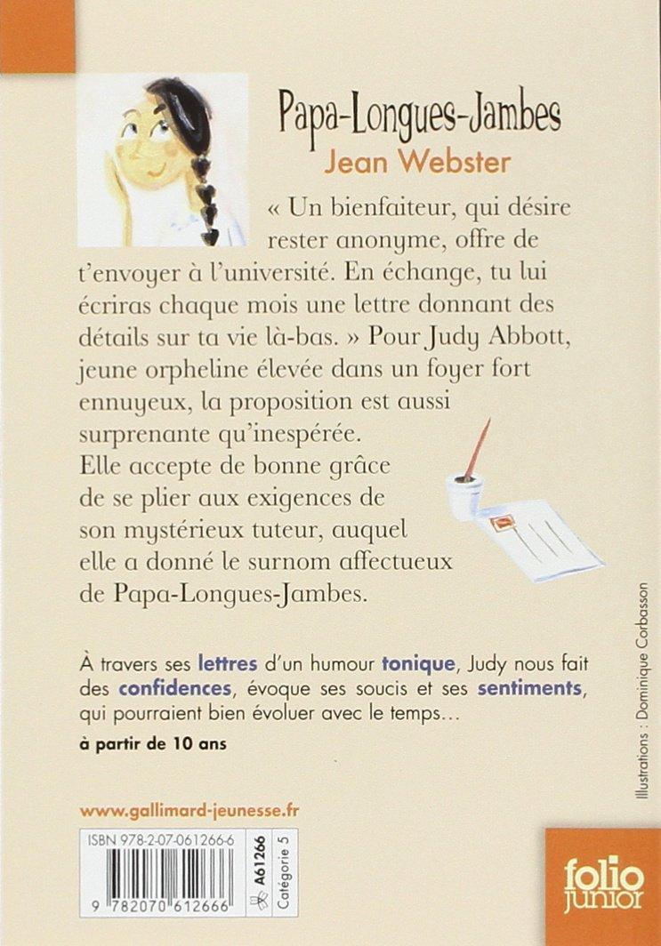 Papa Longues Jambes Folio Junior French Edition Jean