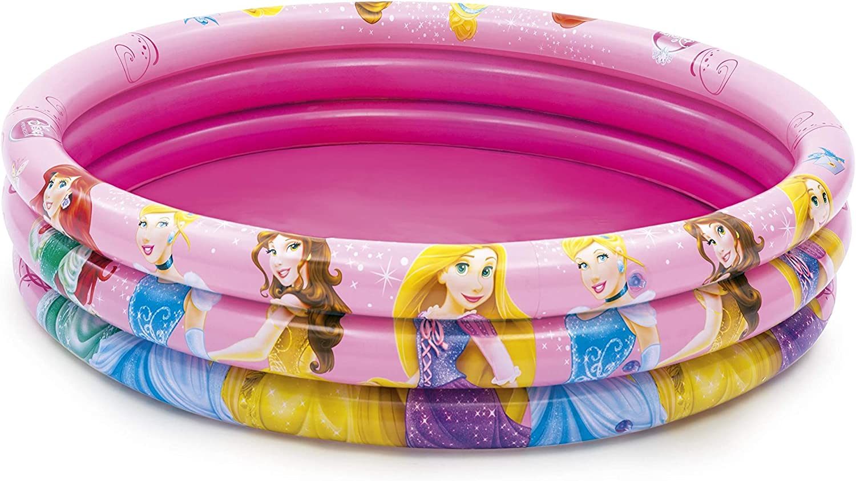 Bestway Disney Princess 3 Anillos sobre el Suelo Piscina