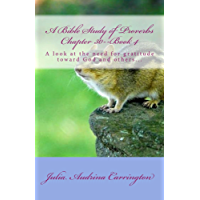 A Bible Study of Proverbs Chapter 30--Book 4 (English Edition)