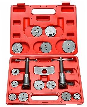 supercrazy 18 piezas Kit de herramienta de retorno de pistón de freno disco SF0143