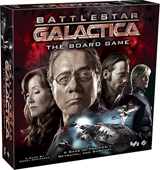 best galactic ship board game for cooperative play - man the ship!