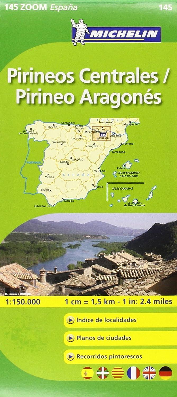 Mapa Zoom Pirineos Centrales / Pirineo Aragonés (Mapas Zoom Michelin): Vv.Aa, Vv.Aa: Amazon.es: Belleza