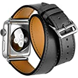Apple Watch Band iWatch Bands Genuine Leather Strap iPhone Smart Watch Band Bracelet