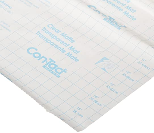 Con-Tact Brand 18-Inch by 9-Feet Self-Adhesive Shelf Liner, Clear ...