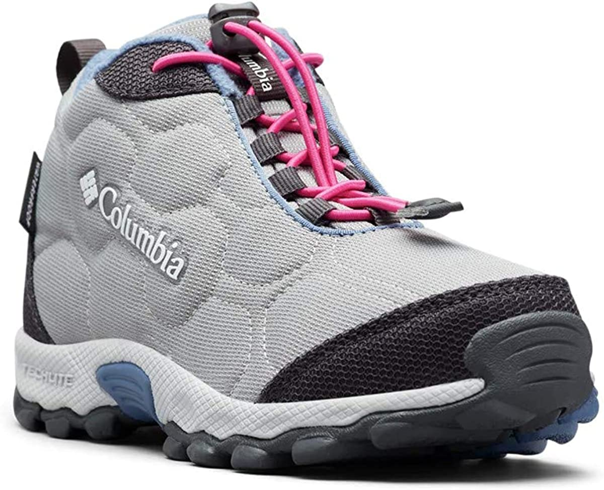 Waterproof /& Breathable Columbia Youth Firecamp Mid 2 Hiking Shoe