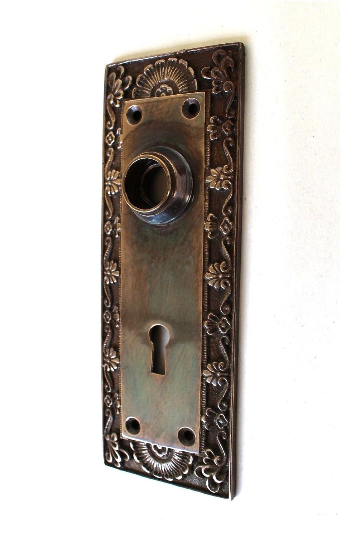 Hardware Sporting Antique Eastlake Keyhole Cover Escutcheons & Key Hole Covers