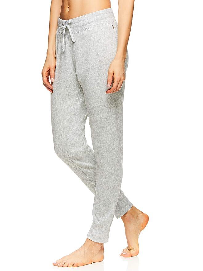 ba8dc48c780f1 Amazon.com: Gaiam Women's Calla Jogger Pant Mid Rise Waist Flow Fleece  Performance Yoga Pants: Clothing