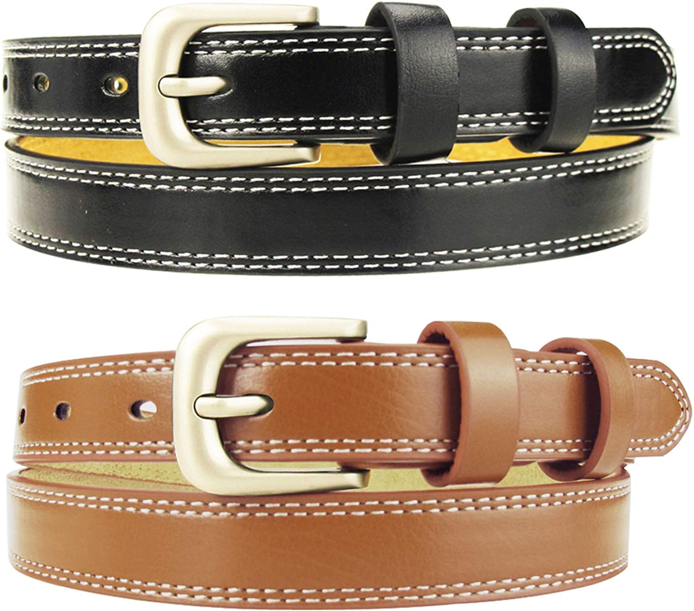 Maikun Belt Skinny Leather...