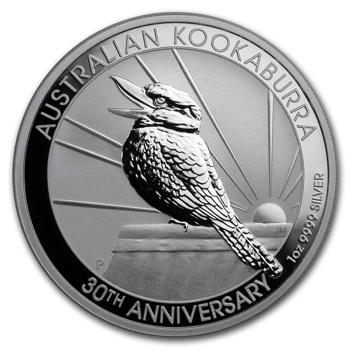 B081D9LM7S 2020 AU 30th Anniversary Australian Kookaburra Silver Coin Dollar Uncircualted Mint 71LeAo9Fa4L