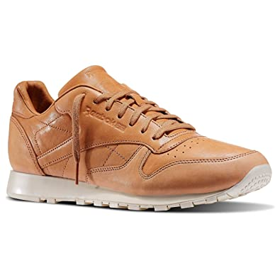 f52b0102f261 REEBOK - Sneakers - Men - Horween Lux Natural Classic Leather Sneakers for  men - 40  Amazon.co.uk  Shoes   Bags