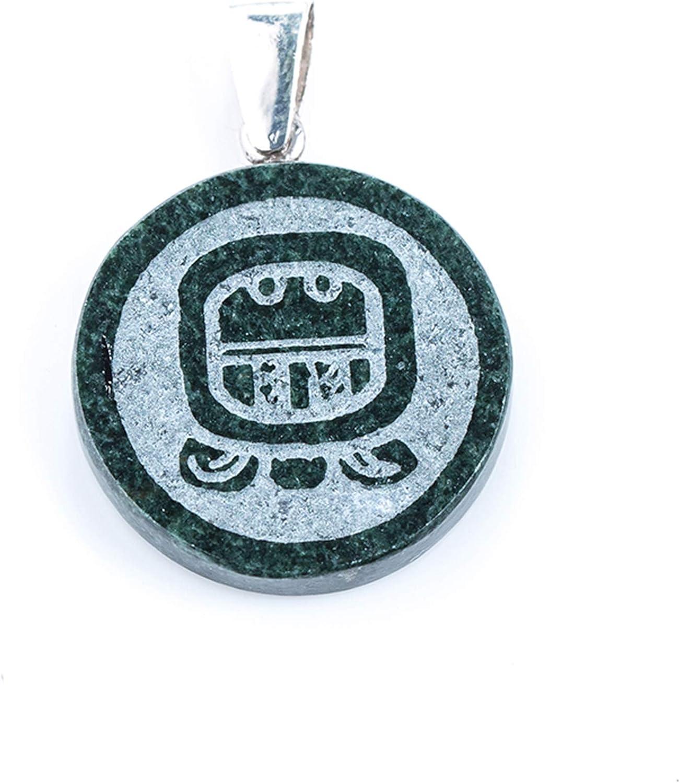 Black Mayan Jade Pendant