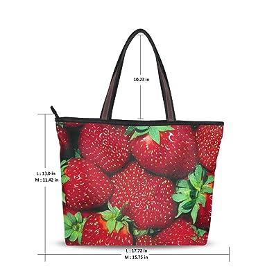 Amazon.com: Mujer bolsa grande asa superior bolsas de hombro ...