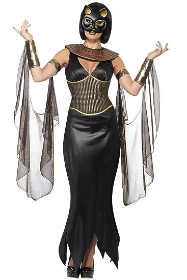 Smiffyu0027s Ladies Bastet The Cat Goddess Egyptian Fancy Dress Halloween Costume Medium  sc 1 st  Amazon UK & Smiffyu0027s Ladies Bastet The Cat Goddess Egyptian Fancy Dress ...